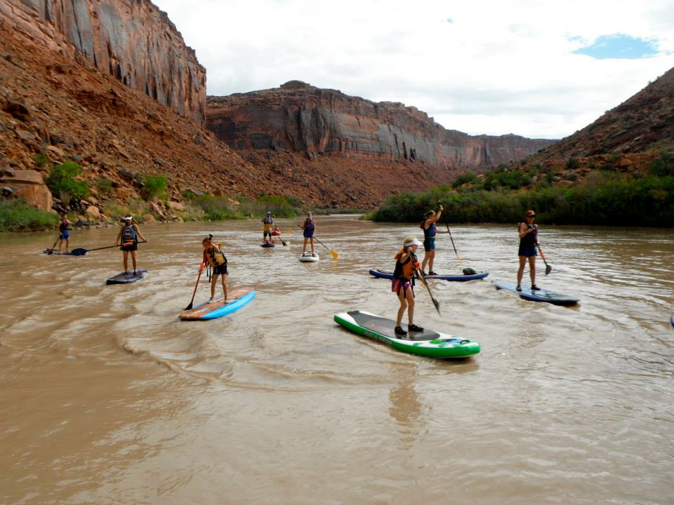 Thanks to Paddle Moab for the picture!