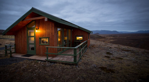 Cabin near thingvellir national park