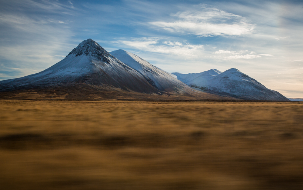Iceland, Ring Road, Mountains