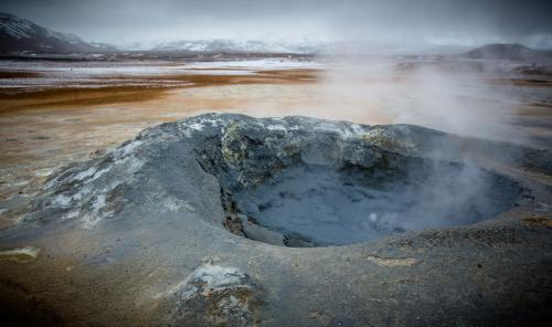 Mud Pot, mudpots, Iceland