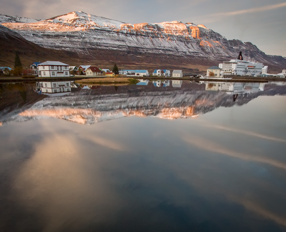 seyðisfjörður, Iceland, ferry