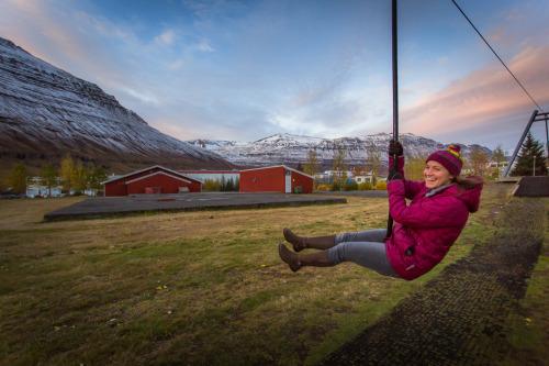 Zipline, Seyðisfjörður, Iceland