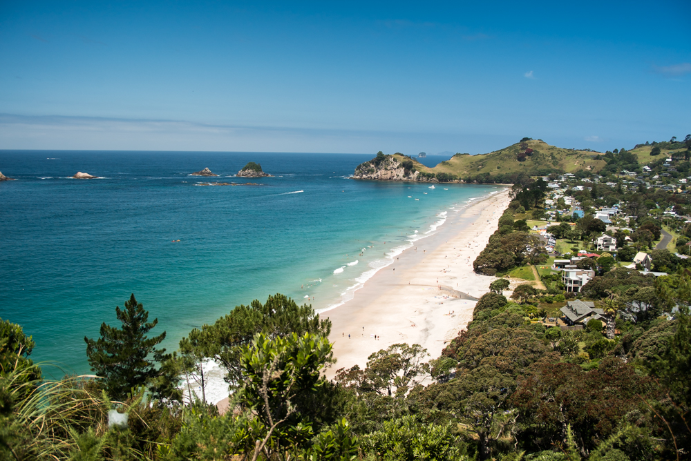Hahei, New Zealand, Beach, Ocean, Paradise