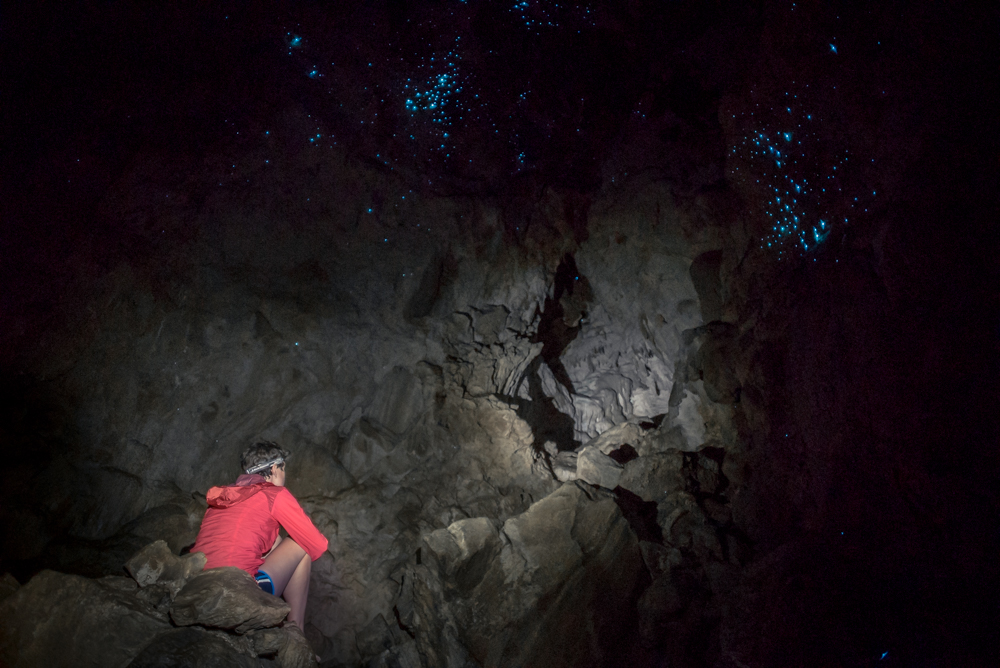 New Zealand, Organ Cave, Spelunking