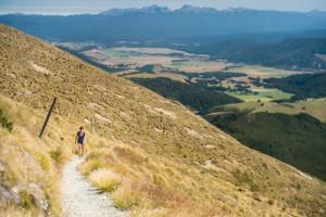 New Zealand, Nelson Lakes National Park, Hiking