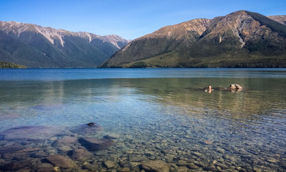 New Zealand, Nelson Lakes National Park, Travel
