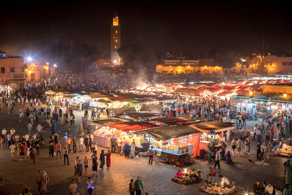Morocco, Marrakech, Travel