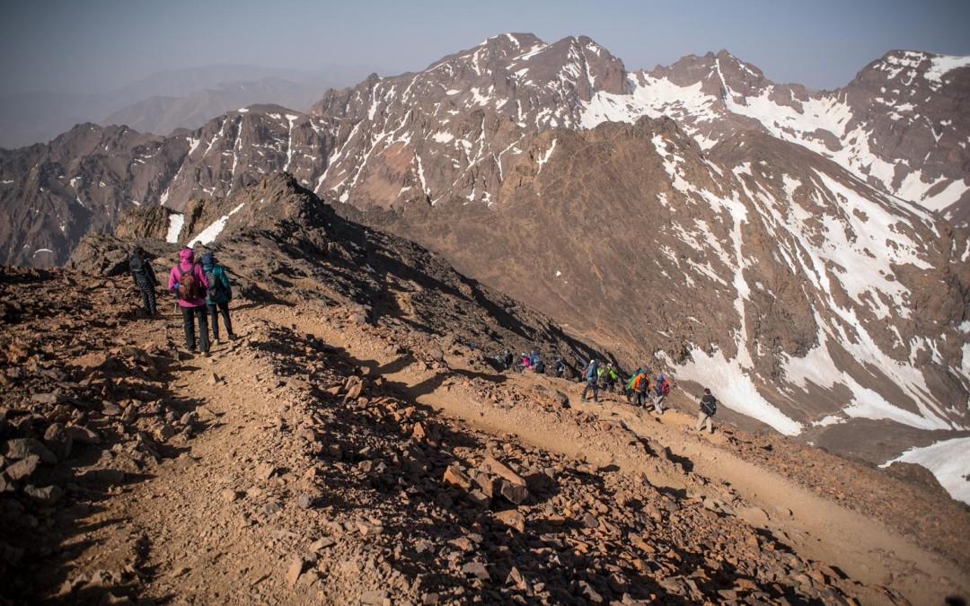 Climbing Jebel Toubkal, Morocco's tallest peak