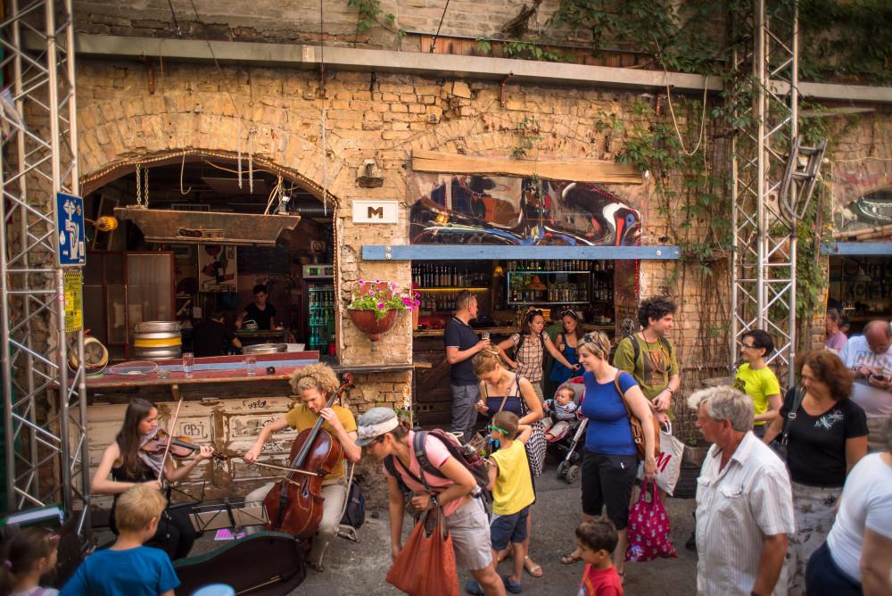Ruin Bars, Hungary, Budapest