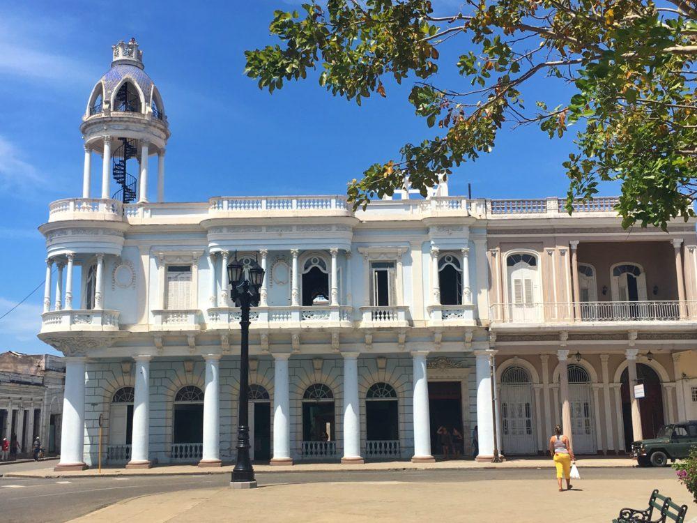Town square, Cienfuegos, Cuba